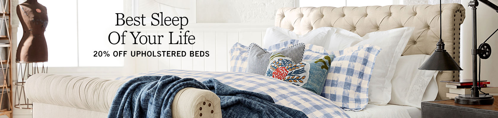 Upholstered Beds Sale