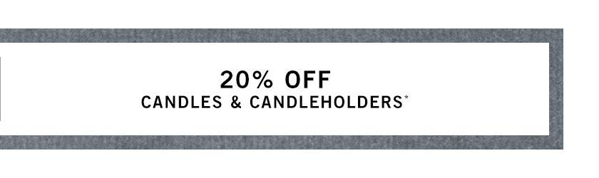 Candles & Candleholders Sale