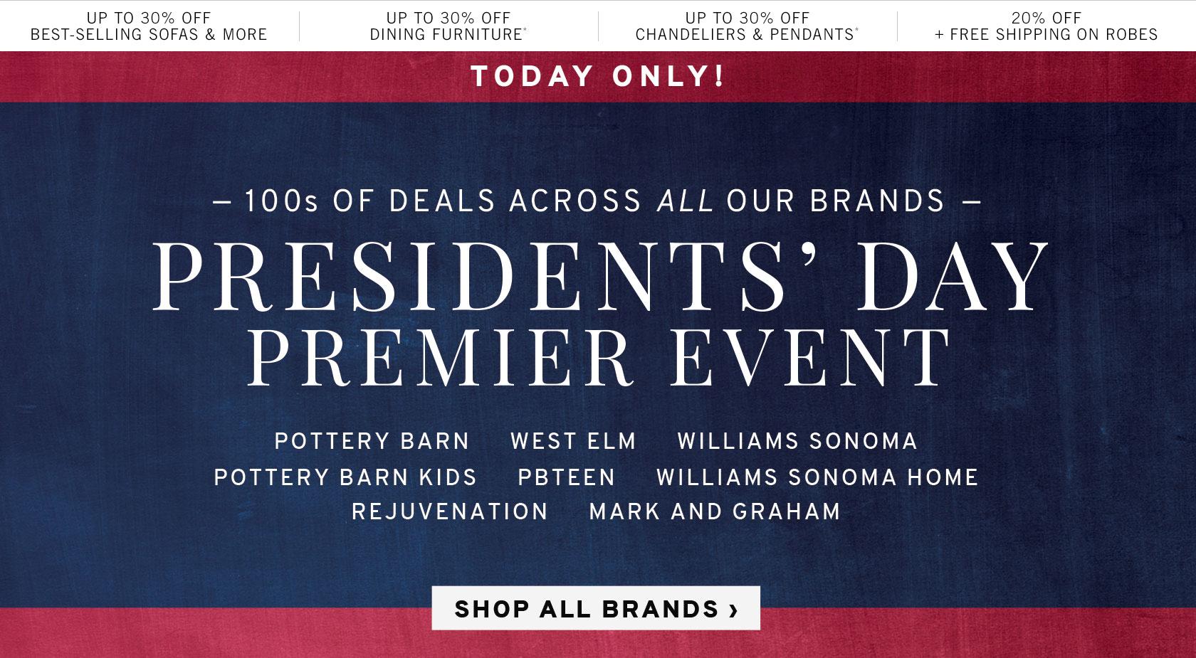 Premier Day Presidents' Sale