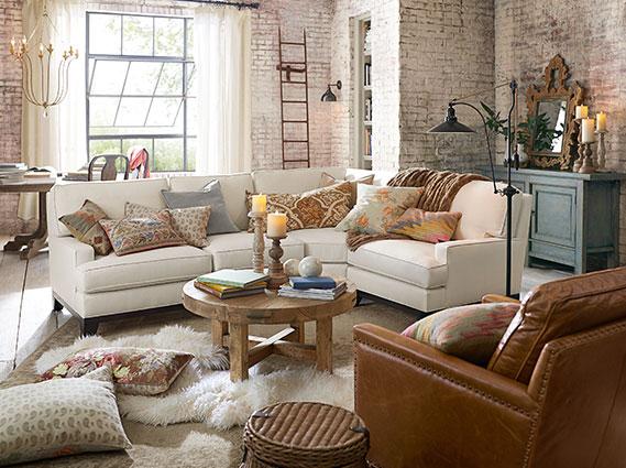 Seabury Marietta Living Room Pottery Barn