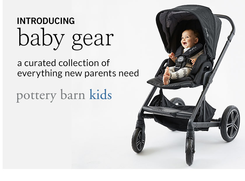 pottery barn kids baby gear