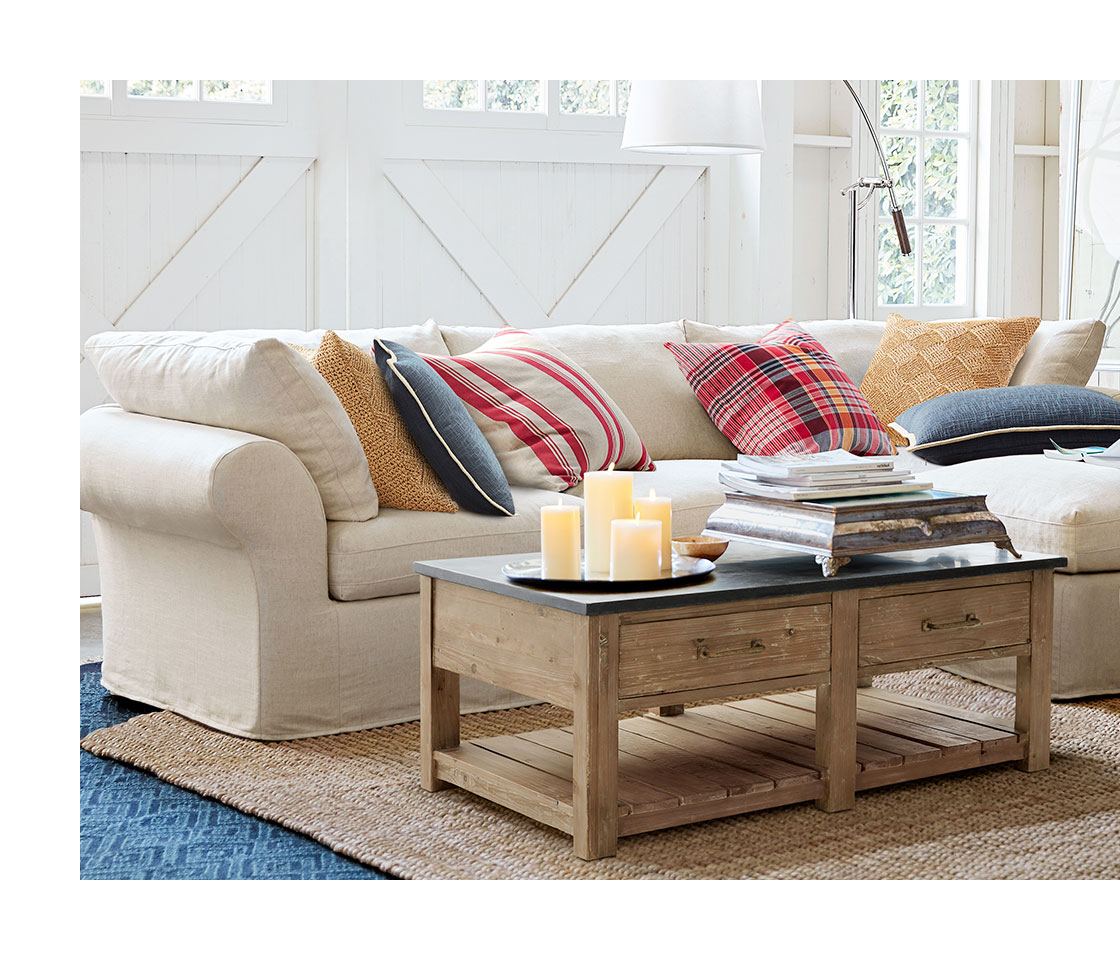 Pottery Barn Hyde Coffee Table Home Furnishings Home Decor Outdoor Furniture Modern Furniture