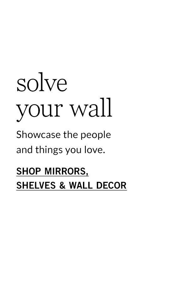 Mirrors, Shelves & Wall Decor Sale